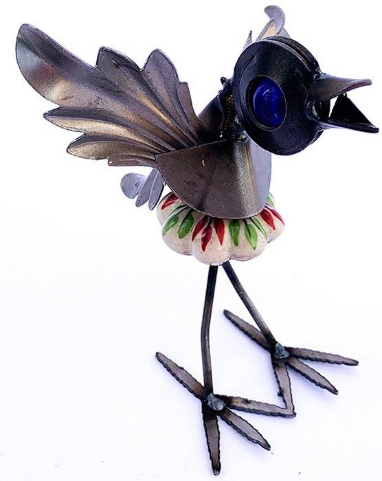 Yardbirds B950N Cabinet Knob Colorful Bird