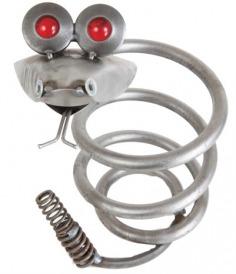 Yardbirds C448 Compression Spring Snake with Glass Eyes
