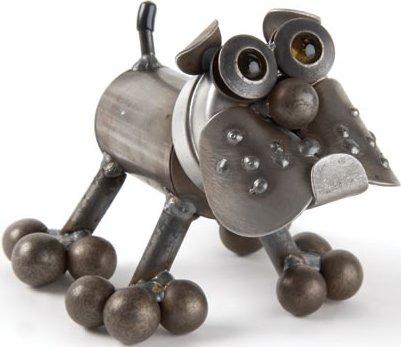 Junkyard Dogs & Cats D047 Tiny Bulldog