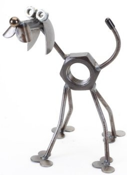 Junkyard Dogs & Cats D127 Nuts the Dog Mini
