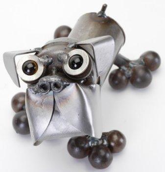Junkyard Dogs & Cats D129 Boxer Tiny Dog