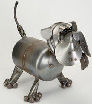 Junkyard Dogs & Cats D141 Saint Bernard Baby