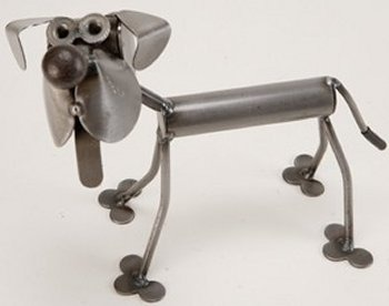 Yardbirds D162 Itty Bitty Standing Dog