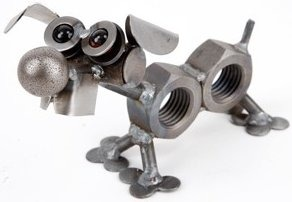 Junkyard Dogs & Cats D172 Nuts Jack Russell Terrier Dog