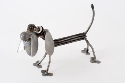 Junkyard Dogs & Cats D204 Schnauzer Tiny Dog
