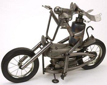 Yardbirds D29 Dog on a Hog Motorcycle