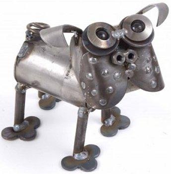 Junkyard Dogs & Cats D86 Pug Mini Dog