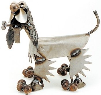 Yardbirds D9 Puppy with Bone