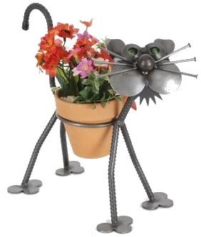 Junkyard Dogs & Cats ENK067N Gear Cat 4inch Pot Holder