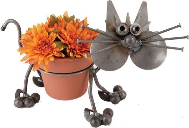 Junkyard Dogs & Cats F14 Cat Pot Holder