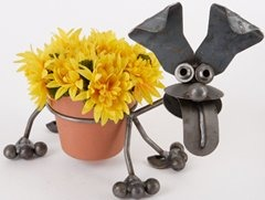 Yardbirds F16 Happy Puppy Pot Holder Dog