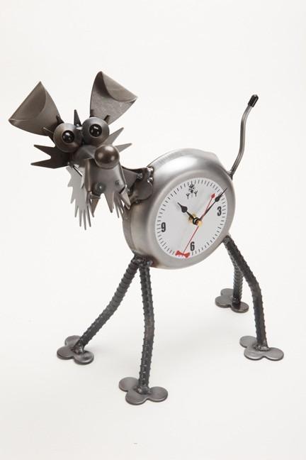 Yardbirds F317 Standing Terrier Clock