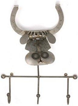 Yardbirds F44 Bull Longhorn Coat Rack