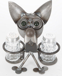 Yardbirds F471 Chubby Nut Chihuahua Salt & Pepper Hdr