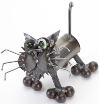 Junkyard Dogs & Cats K54 Tiny Kitten