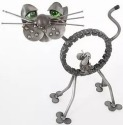 Engine-new-ity ENK003 ENI Cat with Mouse in Belly