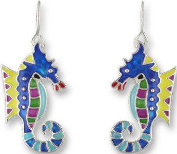 Zarah Co Jewelry 0108Z1 Calypso Seahorse Earrings