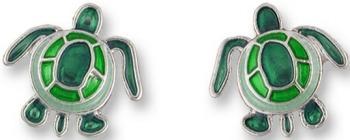 Zarah Co Jewelry 0701Z1 Sea Turtle Earrings