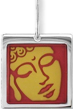 Zarah Co Jewelry 0703V1P Buddhaful Pendant on Chain