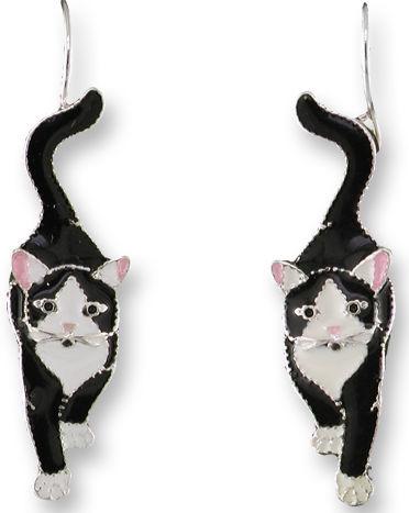 Zarah Co Jewelry 0704Z1 Socks the Cat Earrings