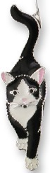 Zarah Co Jewelry 0704Z1P Socks the Cat Pendant on Chain