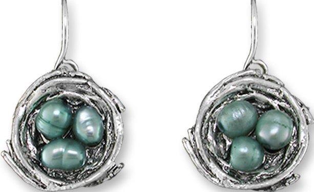 Zarah Co Jewelry 0907Z1 Nesting Pearls Earrings