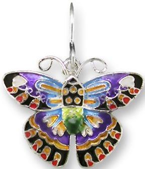 Zarah 1103Z1P Designer Butterfly Pendant on Chain