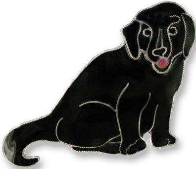 Zarah Co Jewelry 197902 Labrador Retriever Pin Brooch