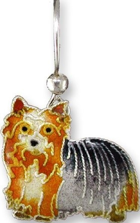 Zarah Co Jewelry 198201P Yorkshire Terrier Pendant on Chain