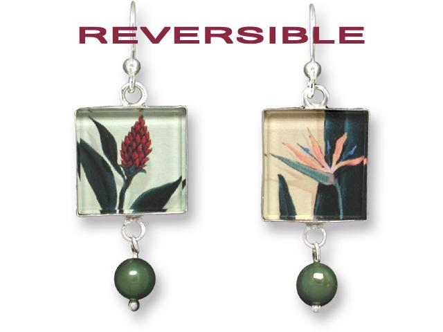Zarah Co Jewelry 2103G1 Paradise Garden Earrings