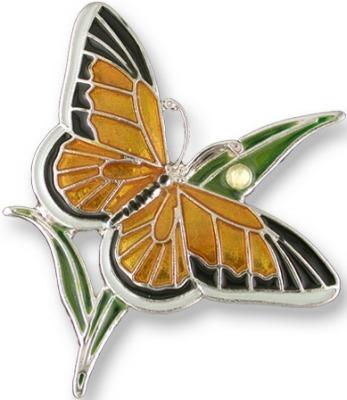 Zarah 2105Z1 Monarch Butterfly Earrings