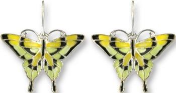 Zarah 2106Z1 Tiger Swallowtail Earrings
