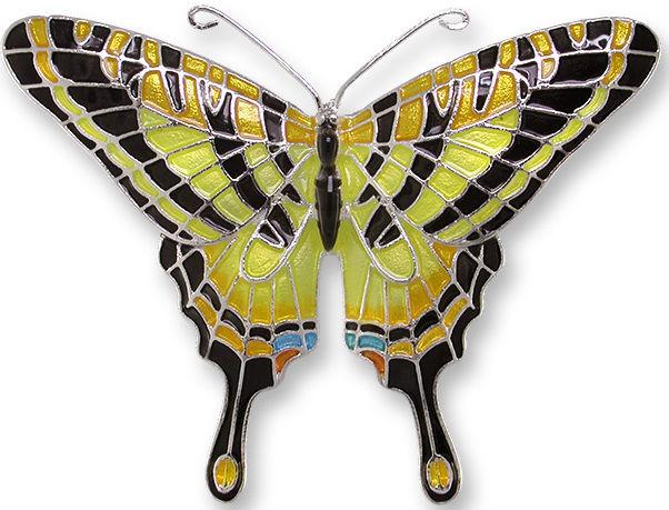 Zarah 2106Z2 Tiger Swallowtail Pin
