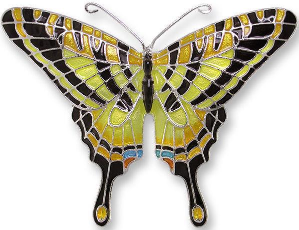 Zarah 2106Z2P Tiger Swallowtail Pendant on Chain