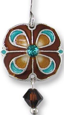 Zarah Co Jewelry 2109Z1P Majolica Pendant on Chain