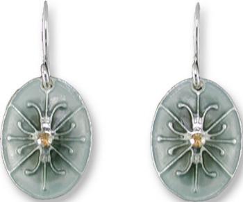 Zarah Co Jewelry 2118Z1 Silk and Slate Earrings