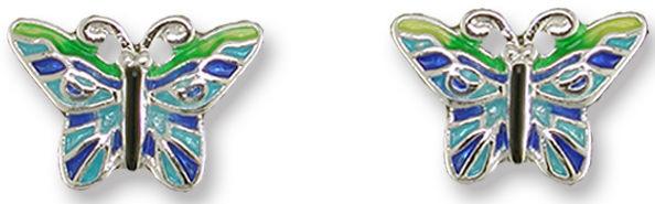 Zarah 2128Z1 Tropical Butterfly Earrings