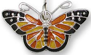 Zarah 2136Z1P Monarch Dangle Pendant on Chain