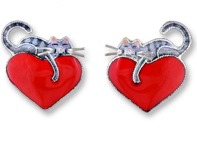 Zarah Co Jewelry 214291 Kitty Love Earrings