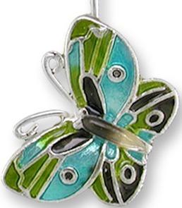 Zarah 2145Z1P Little Butterfly Pendant on Chain