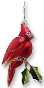 Zarah Co Jewelry 2176Z1P Cardinal Pendant