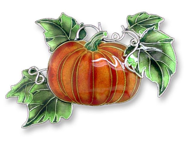Zarah Co Jewelry 218092 Magic Pumpkin Pin Brooch