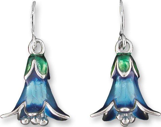 Zarah Co Jewelry 2404Z1 Bluebell Earrings