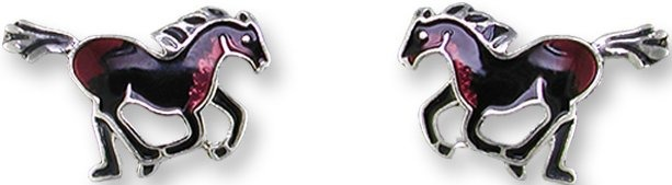 Zarah Co Jewelry 2705Z1 Stallion Earrings