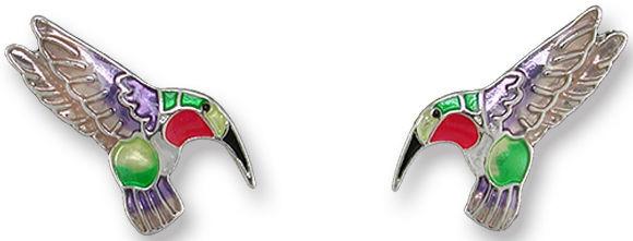 Zarah Co Jewelry 2903Z1 Tiny Hummingbird Earrings