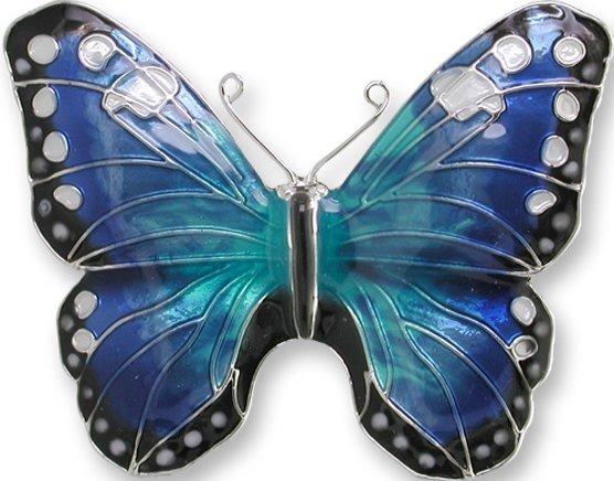 Zarah 2905Z2P Blue Morpho Pin