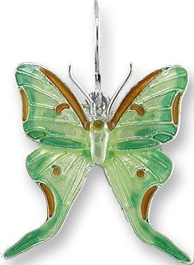 Zarah Co Jewelry 2924Z1P Luna Moth Pendant
