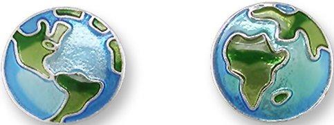 Zarah Co Jewelry 3001Z1 Planet Earth Earrings