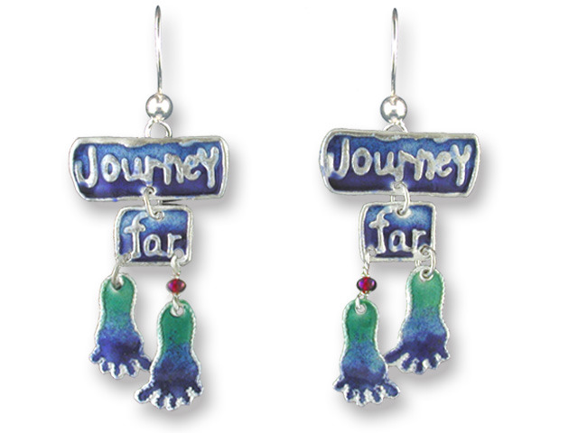 Zarah Co Jewelry 303501 Journey Far Earrings