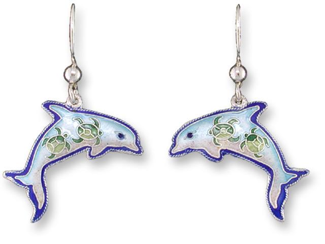 Zarah Co Jewelry 320401 Dolphin Montage Earrings